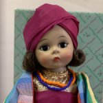 Винтажная кукла Madame Alexander Morocco doll in original box