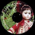 Диск CD с записанным на него Журналом об антикварных куклах Gildebrief, 03.2006