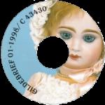 Диск CD с записанным на него Журналом об антикварных куклах Gildebrief, 01-1998