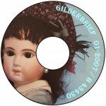 Диск CD с записанным на него Журналом об антикварных куклах, Gildebrief 01-2007