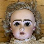 Антикварная французская кукла Bebe Jumeau 8, All original