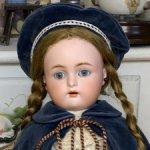 Антикварная немецкая кукла Kammer & Reinhardt, Simon & Halbig 39