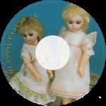 Диск CD с записанным на него Журналом об антикварных куклах, , Gildebrief, 01-1999