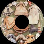 Диск CD с выкройками одежды для кукол THE COLLECTOR'S BOOK OF DOLLS CLOTHES