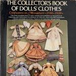 Книга с выкройками одежды для кукол THE COLLECTOR'S BOOK OF DOLLS CLOTHES