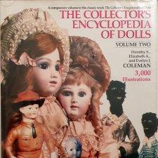 Книга об антикварных куклах The Collector's Encyclopedia Of Dolls