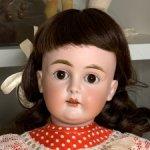 Антикварная немецкая кукла Johann Daniel Kestner 167