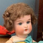 Антикварная немецкая кукла Heubach Koppelsdorf 250