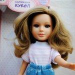 Кукла Арина 32 см. сделана в Испании для фабрики «Огонек»