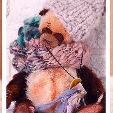 "Мишка тедди Мохеровый панда  ""Бруно"""
