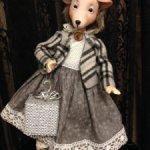 Коллекционная кукла Ежиха