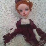 Текстильная кукла-принцесса