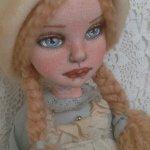 Моя вторая кукла из ткани