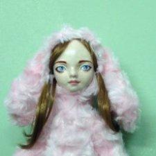 Тедди-долл Аня, кукла ручной работы