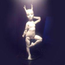 История моей Беатриче. Шарнирная кукла ручной работы