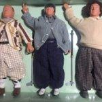 Толстяки Three Stooges характерные куклы