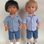 Рубашка и шорты для мальчишек Carmen Gonsalez