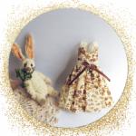 Платье для кукол ростом 22-24 см