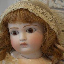 Редчайшая и изумительно красивая очень ранняя девочка Sonneberg для французского рынка!!!