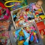 Распродажа редких, винтажных  мини-кукол и пупсов