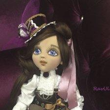 Текстильная кукла Виктория