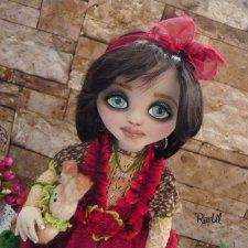 Текстильная кукла Эсмер