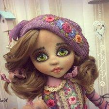 Текстильная кукла Нурай