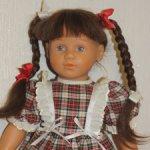 Кукла Schildkröt (Шильдкрет, Черепашка) коллекционная