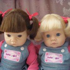 Близнецы Lee Middleton. Цена за обе куклы.