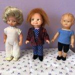 Маленькие куколки ГДР винтаж