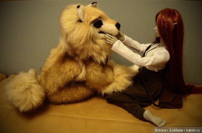 собака для resinsoul bjd