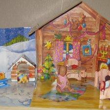Дом с мини куколкой Baby Born Miniworld от Zapf Creation.