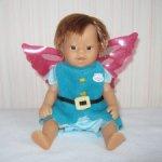 Мини куколка пупсик (мальчик) My Mini Baby Born Flower Fairies от Zapf Creation.