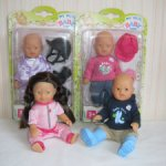 Мини куколки пупсики My mini Baby Born от Zapf Creation.