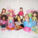 Шарнирные мини куколки Мисси Милли Missy Milly от Zapf Creation.