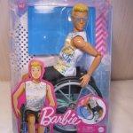 Кукла Барби Barbie Кен Фашионистас Ken Fashionistas 167 в инвалидном кресле от Mattel.