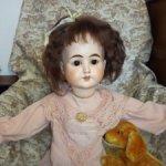 Антикварная немецкая кукла от Heber & Company  10