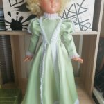 Платье  Золушки для куклы ссср Наташа Днепр