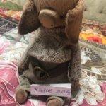 Поросенок Тедди , авторская игрушка