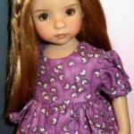 Платье дляна кукол Дианны Эффнер Effner Little Darling, Betsy McCall, BJD
