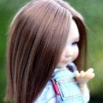 Парик для кукол 4-5 Avant Guard, Ficon, Numina, Deva, Studio Milim Миленка Барби моник 11-13см
