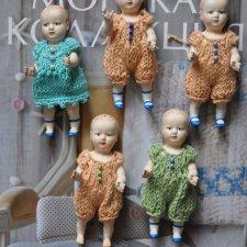Родились еще 5 мини кукол
