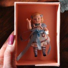 Моя новая маленькая авторская куколка Алиса