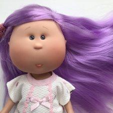 Шикарная Миа с фиолетовыми волосами (.) Nines D'onil