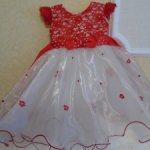 Красивое ,шикарное ,новое платье для кукол от 75 см ростом и выше .