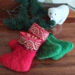 Сапожки валеночки для куколок и подарков