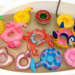 Круги для купания кукол от 20см БЖД, Дианы Эффнер, Паолки, Мини Вихтель и подобных
