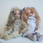 Мои авторские куколки-зайчоночки тедди долл