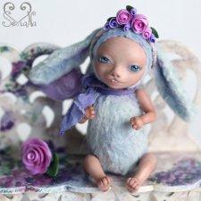 Авторская кукла-зая тедди долл Василиска от SeVlaNa