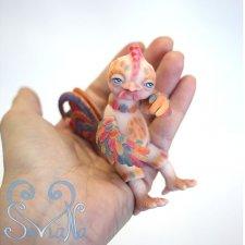 Мой шарнирный из полиуретана Петя-петушок наконец в красках! SеVlaNa
